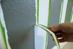 how to paint stripes w/ no bleeding! (and everything else a person could possibly need to know about painting)