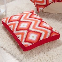 i know this is a ptet bed, but it´s cute! Happy Chic by Jonathan Adler Trellis or Ikat Pet Bed