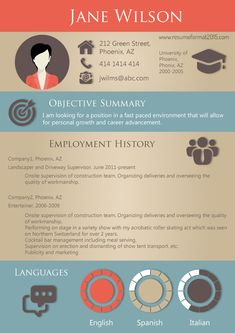 56 best resumes images on pinterest resume resume design and