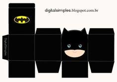 - Batman Printables - Ideas of Batman Printables - Free Printable Superheroes Cube Boxes. Fiesta Batman Lego, Lego Batman Party, Batman Birthday, Superhero Birthday Party, Boy Birthday, Birthday Parties, Logo Super Heros, Batman And Batgirl, Paper Toys