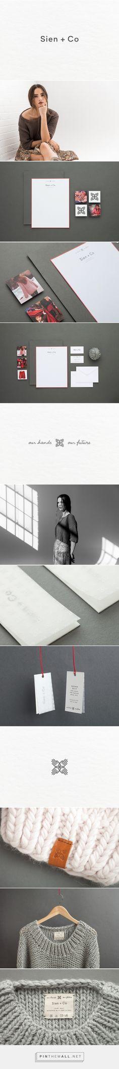 Sien + Co Knit Apparel Branding by Menta   Fivestar Branding Agency – Design and Branding Agency & Curated Inspiration Gallery #fashion #fashionbranding #branding #design #designinspiration