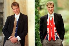 June 2000: Two photos released to mark Prince William's 18th birthday on June 18 2000