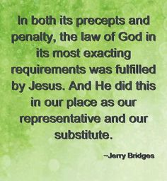 ~ Jerry Bridges