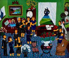 American Folk Art Artists | Malcah Zeldis: New York Artist