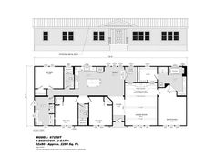 Model 6722DT - Double Section - Our Homes