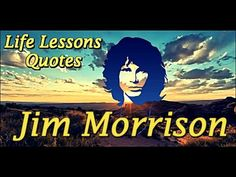 15 Amazing Epic Quotes from Life ★ Jim Morrison