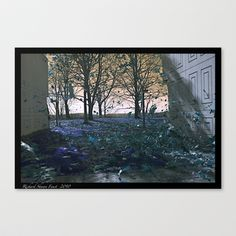 Blue Sea Stretched Canvas by Richard Shawn Faust - $85.00
