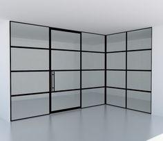 Afbeeldingsresultaat voor deuren zwart kantoor