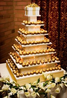 Ferrero Rocher  - 20 amazing alternative wedding cake ideas