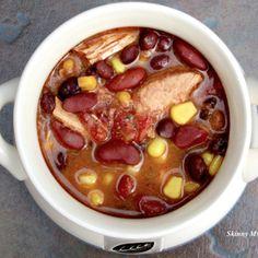Crock Pot Fiesta Chicken Soup....