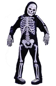 Skelebones Child Skeleton Costume £23.85 : Direct 2 U Fancy Dress Superstore. Fancy Dress, Party Themes & Accessories For The Whole Family. http://direct2ufancydress.com/skelebones-child-skeleton-costume-p-4622.html