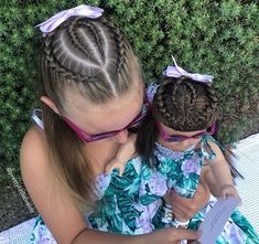 La imagen puede contener: 1 persona, exterior y primer plano Girls Hairdos, Baby Girl Hairstyles, Kids Braided Hairstyles, Pretty Hairstyles, Wedding Hairstyles, Long Hair Designs, Hair Upstyles, Crazy Hair Days, Natural Hair Styles