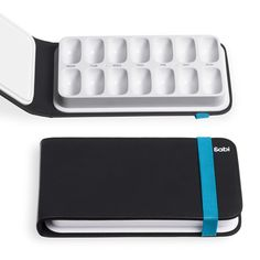Wouldn't this pill case make a fabulous portable watercolor palette?    Found on the FB page of Fab