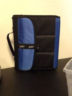 Tech Gear Mega Filled Binder Blue | eBay