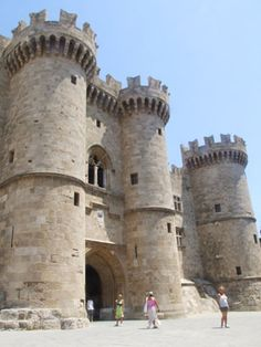 Templar Knights' Castle, Rhodes, Greece