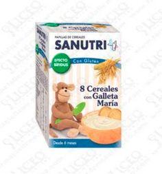 SANUTRI PAPILLA 8 CEREALES CON GALLETA MARIA EFECTO BIFIDUS