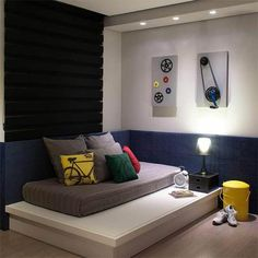 Handsome aided easy and cheap bedroom styles as well as design inspiration Give a gift Boys Room Decor, Kids Bedroom, Master Bedroom, Bedroom Decor, Beautiful Interior Design, Contemporary Interior Design, Study Room Design, Bedroom Photos, Bedroom Styles