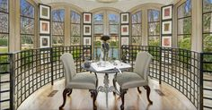 $18 Million Masterpiece of an Estate in Bethesda Maryland 5 some of this house feels tacky, but this is a nice touch