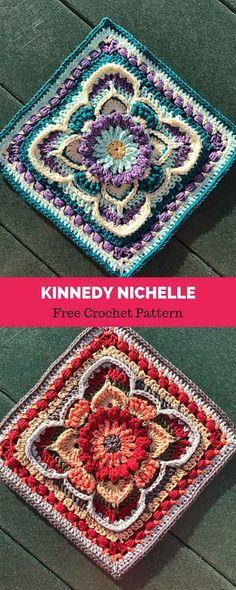Transcendent Crochet a Solid Granny Square Ideas. Inconceivable Crochet a Solid Granny Square Ideas. Modern Crochet Blanket, Crochet Squares Afghan, Crochet For Beginners Blanket, Granny Square Crochet Pattern, Crochet Blocks, Crochet Blanket Patterns, Crochet Granny, Crochet Motif, Crochet Doilies