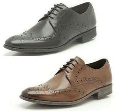 MENS CLARKS CLASSIC  LACE UP SMART FORMAL BROGUE SHOES STYLE CHART LIMIT FIT- G