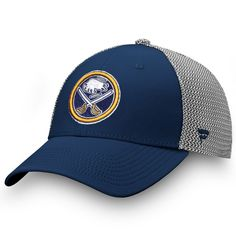 quality design ed2b5 3bf6a Men s Buffalo Sabres Fanatics Branded Navy Gray Versalux Speed Flex Hat,  Your Price