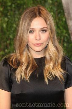 Elizabeth Olsen, hair length