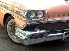 Pink Vintage Oldsmobile