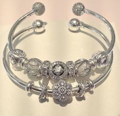 fa6eacd82 Pandora cuff bangles Pandora Bangle Bracelet, Pandora Open Bangle, Bangle  Bracelets, Bangles,