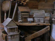 Primitive Log Cabin Sweet Liberty Homestead