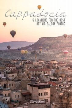 Cappadocia Hot Air Balloons // 6 Best Photo Spots from the Ground // Turkey Travel Photography | Cappadocia Photography Air Balloon | Cappadocia Turkey | Cappadocia Photo Ideas | Cappadocia Air Balloon | Cappadocia Picture Ideas | Turkey Photography