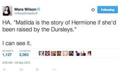 Here's What Matilda Would Have Been Like At Hogwarts, According To Mara Wilson