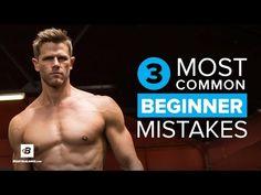 Bodybuilding.com: 3 Most Common Beginner Mistakes | Andy Speer