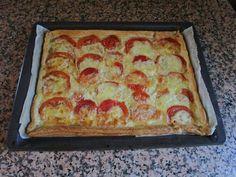 Dulce y Chic by Nuria: Tarta de tomate y  mozarella