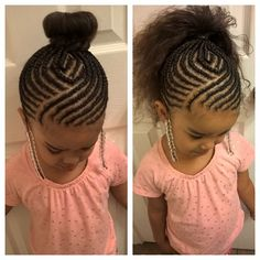 Braid Hairstyles For Girls Coiffure Afro Enfant  Hair  Pinterest  Black Girls Hairstyles