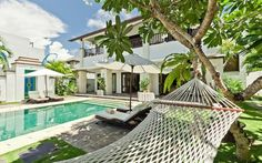 Villa Cantik is within the Puri Tirta Villas, a complex of five 3 bedroom private villas located on the waterfront in #NusaDua.