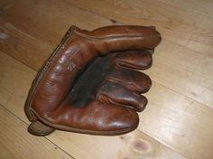 Vintage RARE Split Finger Baseball Glove Guardian Brand FC