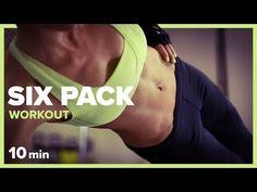 GYM BREAK - 10 min SIX PACK Workout | Szymon Gaś & Katarzyna Kępka - YouTube