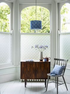 An Alternative Quick & Easy Window Treatment - Window Film | advances in technology such as digital printing has meant that window films are becoming an increasingly popular decorative solution. They not only provide solar control (sunlight), privacy, and