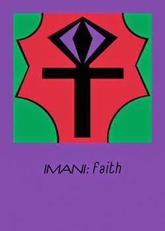 Another thought ...: IMANI - FAITH