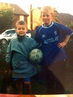 Harry and his cousin << Awe ^_^