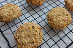 Sometimes I just want something yummy without all the pizzazz and added fat and calories. I've been trying to get rid of some bad habits and am in the process of cleaning up my diet. That's where these super simple 2 Ingredient Oatmeal Banana Cookies can be a big saver, because whether I've invited it or not... cravings always come knocking! Why not have a go-to recipe on hand that can be made anytime? If you haven't guessed already by the name of these cookies, the two ingredients are…