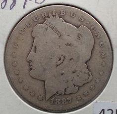 1887-O United States Silver Morgan Dollar