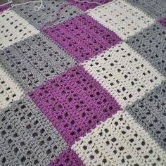 LOVE blanket… Fairysteps Knits free pattern