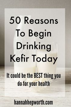 Kefir is all the rage and for good reason. Find out 50 reasons why YOU need to be drinking this healing drink today!
