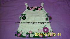 Cansu'ya ördüğüm çiçek bahçeli elbise