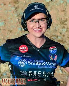 Julie Golob, a shooting champion, hunter, author and veteran.