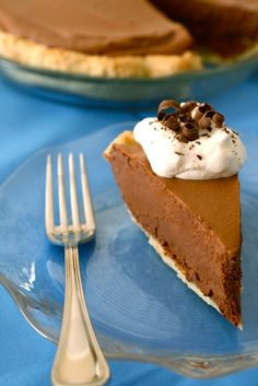 The best chocolate pie. This is the same  recipe I got from a restaurant I used to manage.