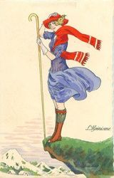 L'ALPINISME Moda Art Deco, Decoupage, Art Deco Artists, Diy And Crafts Sewing, Pin Up Art, Illustrations Posters, Vintage Illustrations, Fashion Plates, Pretty Pictures