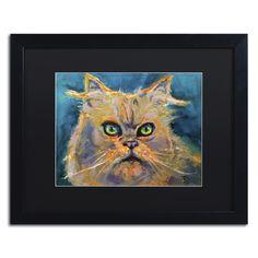 'Koo Koo Cat' by Lowell S.V. Devin Giclée Framed Painting Print