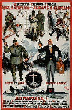 http://ift.tt/2ukdVYS poster that was once up in Great Britain after WW1